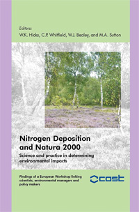 Nitrogen Depostion & Natura 2000 Book Thumb